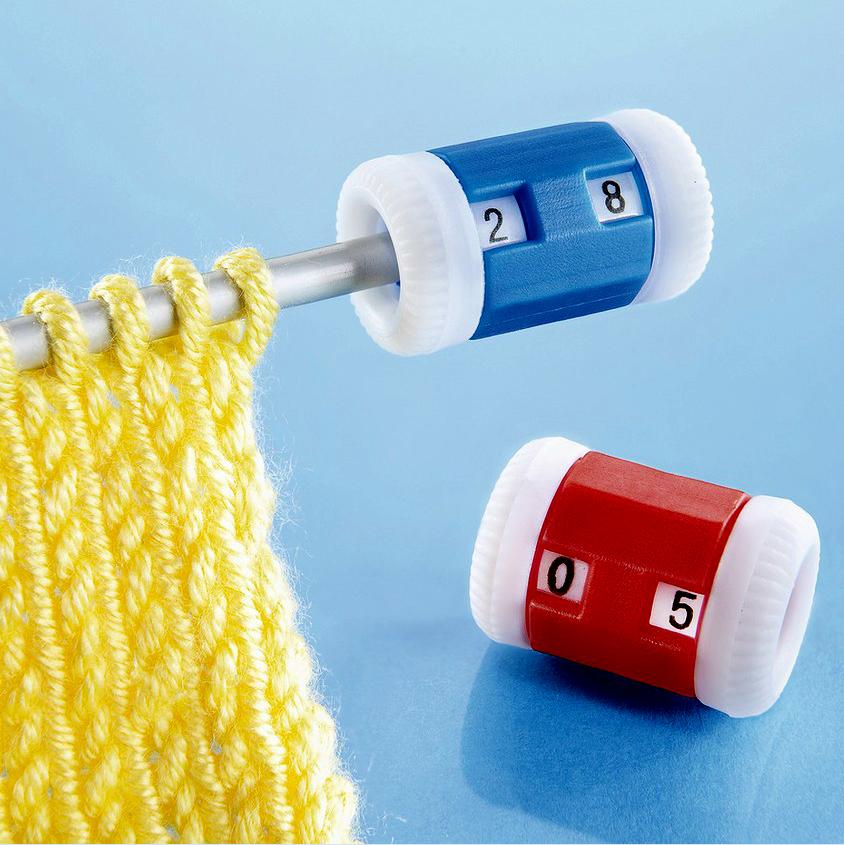 Как пользоваться счетчиком для рядов в вязании
