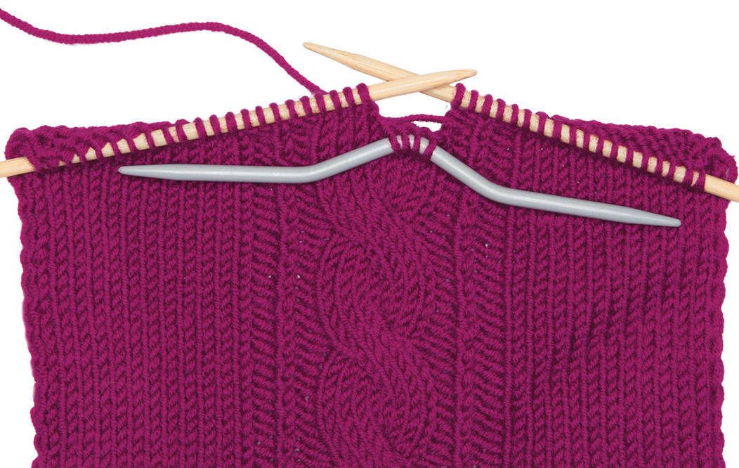 Косы вязание изогнутыми спицами