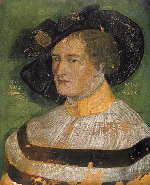 Никлаус_Мануэль_Дойч._Автопортет_(1520,_Базель)